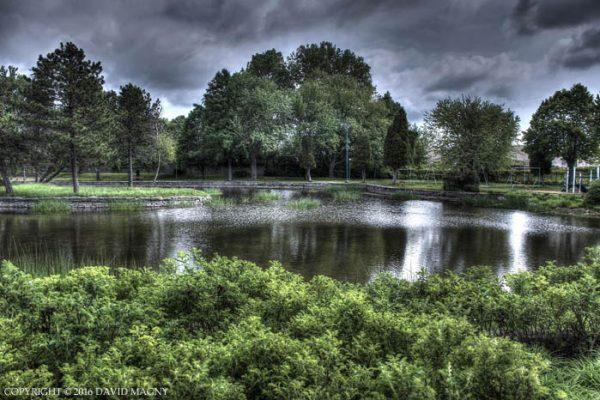 L'étang du Parc des Chenaux